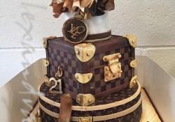 Louis Vuitton Birthday Cake Louis Vuitton Birthday Cake 21st Bday Pinterest Louis