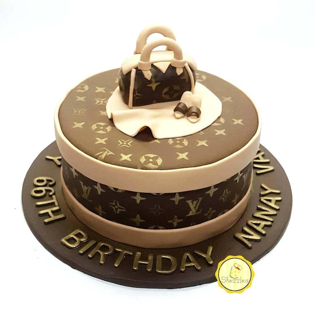 Amazing Louis Vuitton Birthday Cake Louis Vuitton Cake Ideas Birthday Cups Funny Birthday Cards Online Alyptdamsfinfo