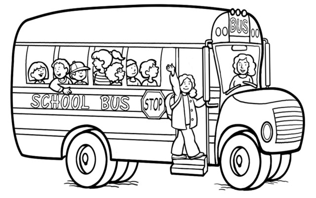 Magic School Bus Coloring Pages Bus Coloring Pages To Print At Getdrawings Free For Personal