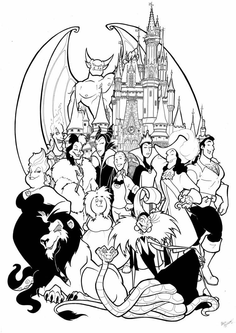 View Malificent Maleficent Coloring Page