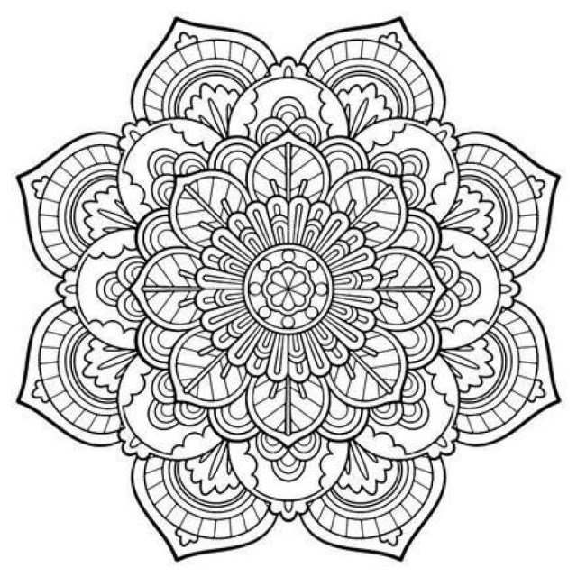 Mandala Coloring Pages Printable Mandala Coloring Pages Printable Free 48136 10241024 Attachment
