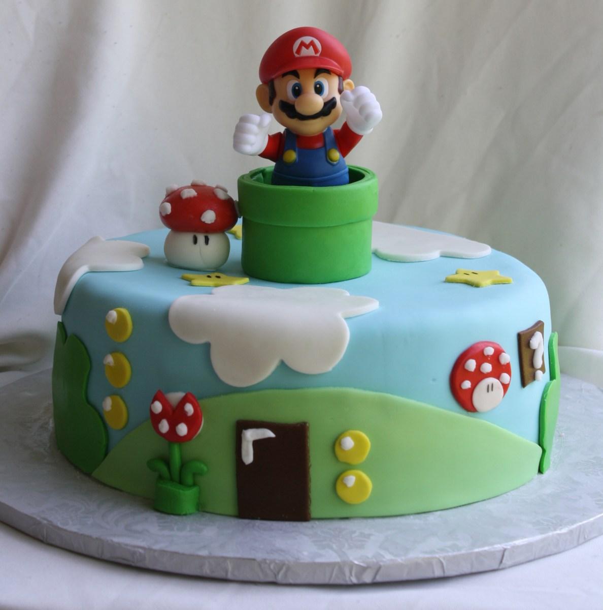 Admirable Mario Bros Birthday Cake Super Mario Bros Cake Birijus Com Personalised Birthday Cards Akebfashionlily Jamesorg