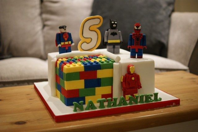 Marvel Birthday Cakes Lego Marvel Birthday Cake Bakealous