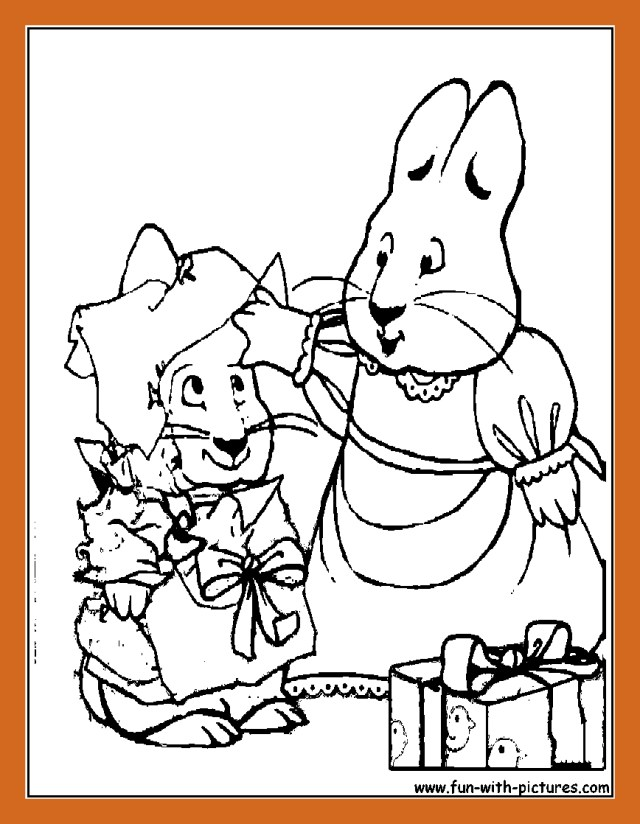 Max And Ruby Coloring Pages Max And Ru Coloring Pages To Print Cosmo Scope