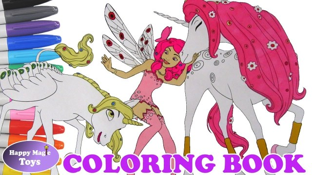 Mia And Me Coloring Pages Mia And Me Coloring Book Mia With Onchao And Lyria Coloring Page