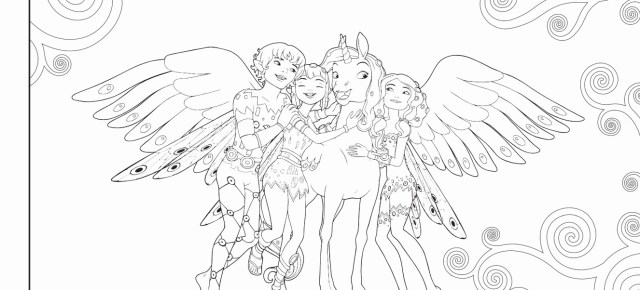 Mia And Me Coloring Pages Mia And Me Coloring Pages Bestof Mia And Me Free To Color For