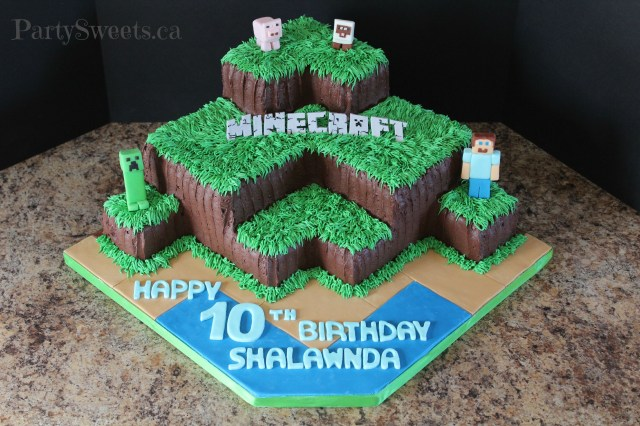 Minecraft Birthday Cake 13 Minecraft Cakes For Boys Photo Minecraft Birthday Cake