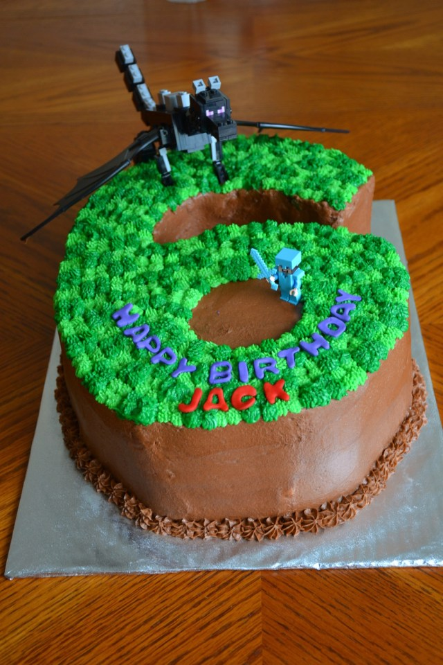 Minecraft Birthday Cakes Minecraft 6 Birthday Cake How To Make