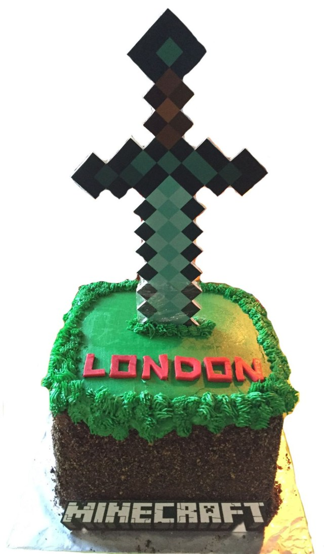Minecraft Birthday Cakes Minecraft Birthday Cake Cakecentral