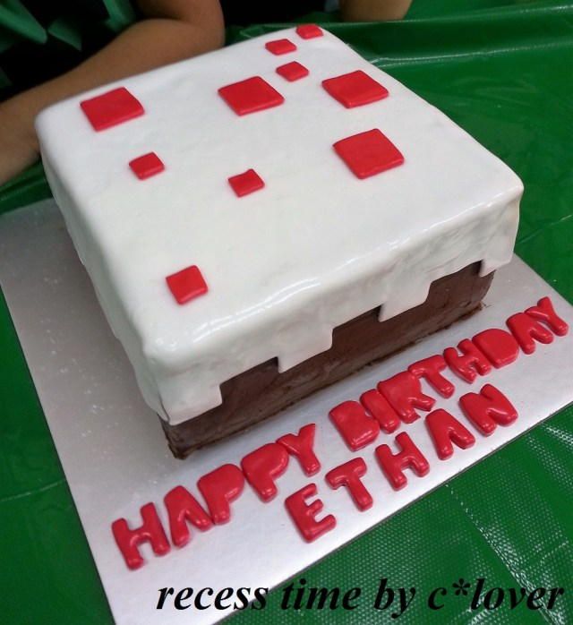 Minecraft Birthday Cakes Uglee Cake Minecraft Birthday Cake