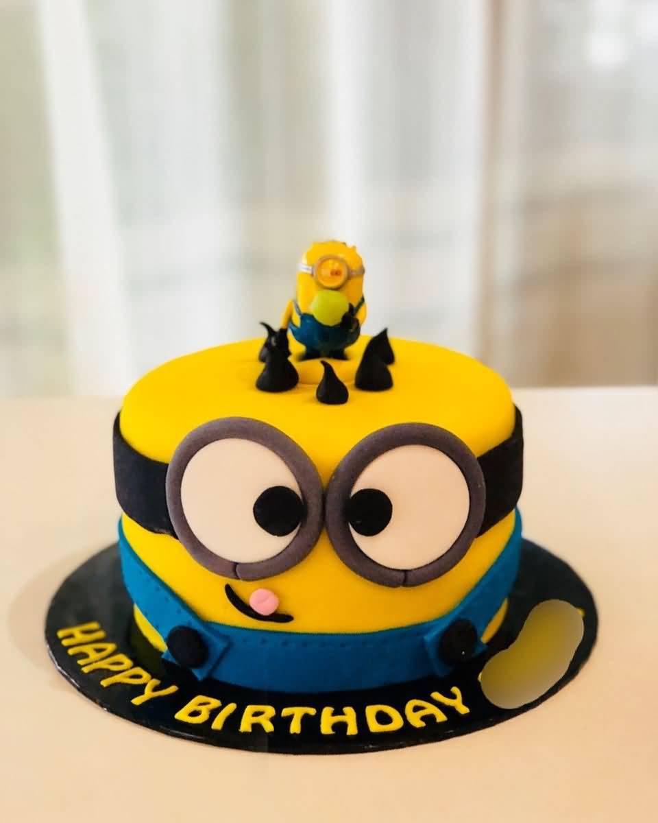 Super Minion Birthday Cake Images Birthday Cakes The Ask Idea Birijus Com Funny Birthday Cards Online Unhofree Goldxyz