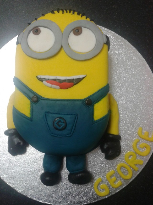 Minion Birthday Cake Images Despicable Me Minion 6th Birthday Cake Crumbs Cake Shop Sheffield