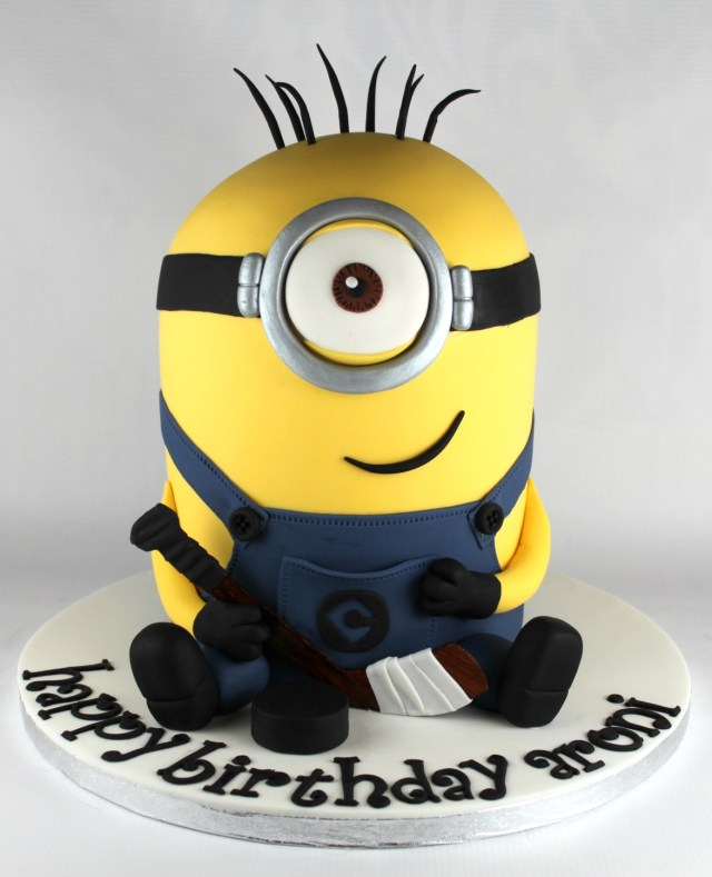 Minion Birthday Cake Images Minion Birthday Cake Lil Miss Cakes