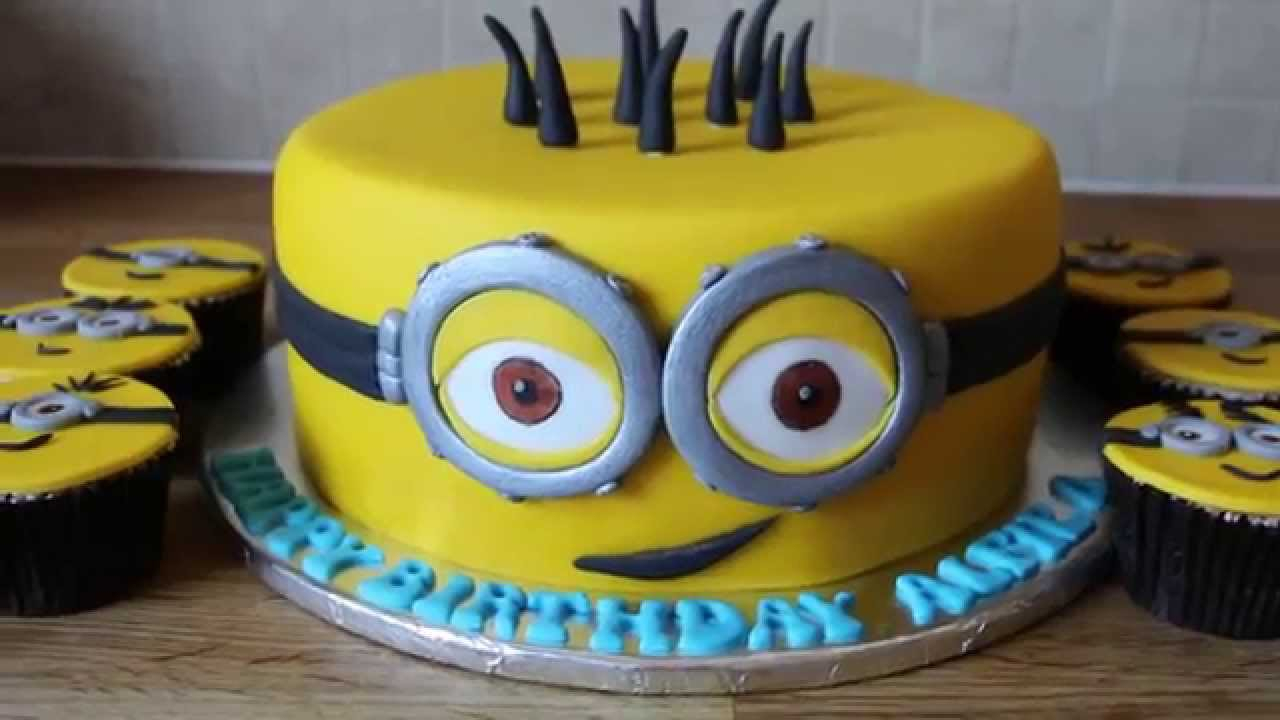 Terrific 25 Inspiration Photo Of Minion Birthday Cake Images Birijus Com Funny Birthday Cards Online Barepcheapnameinfo