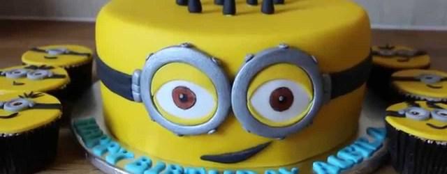 Minion Birthday Cake Images Minion Birthday Cake Youtube
