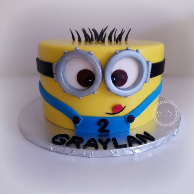 Minion Birthday Cake Images Mycakesweetdreams Minion Birthday Cake