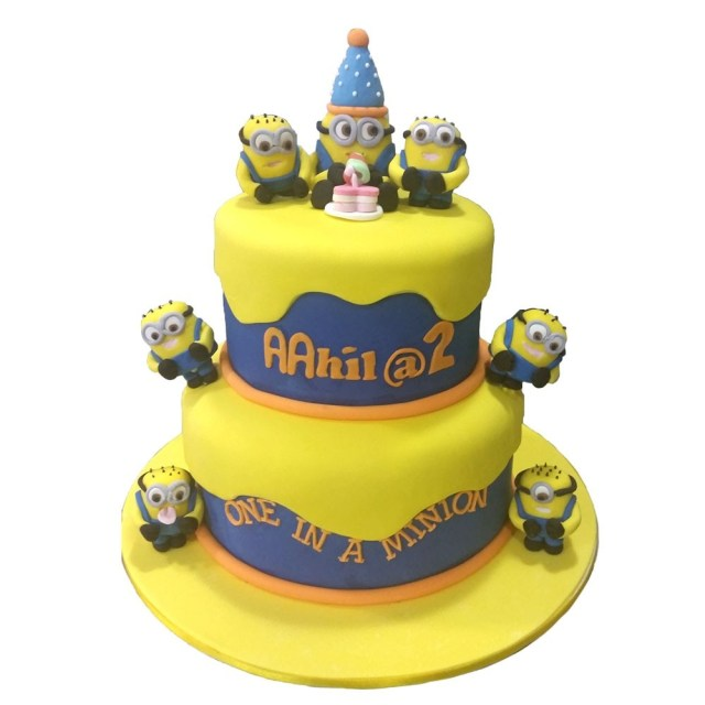Minion Birthday Cake Images One In A Minion Birthday Cake