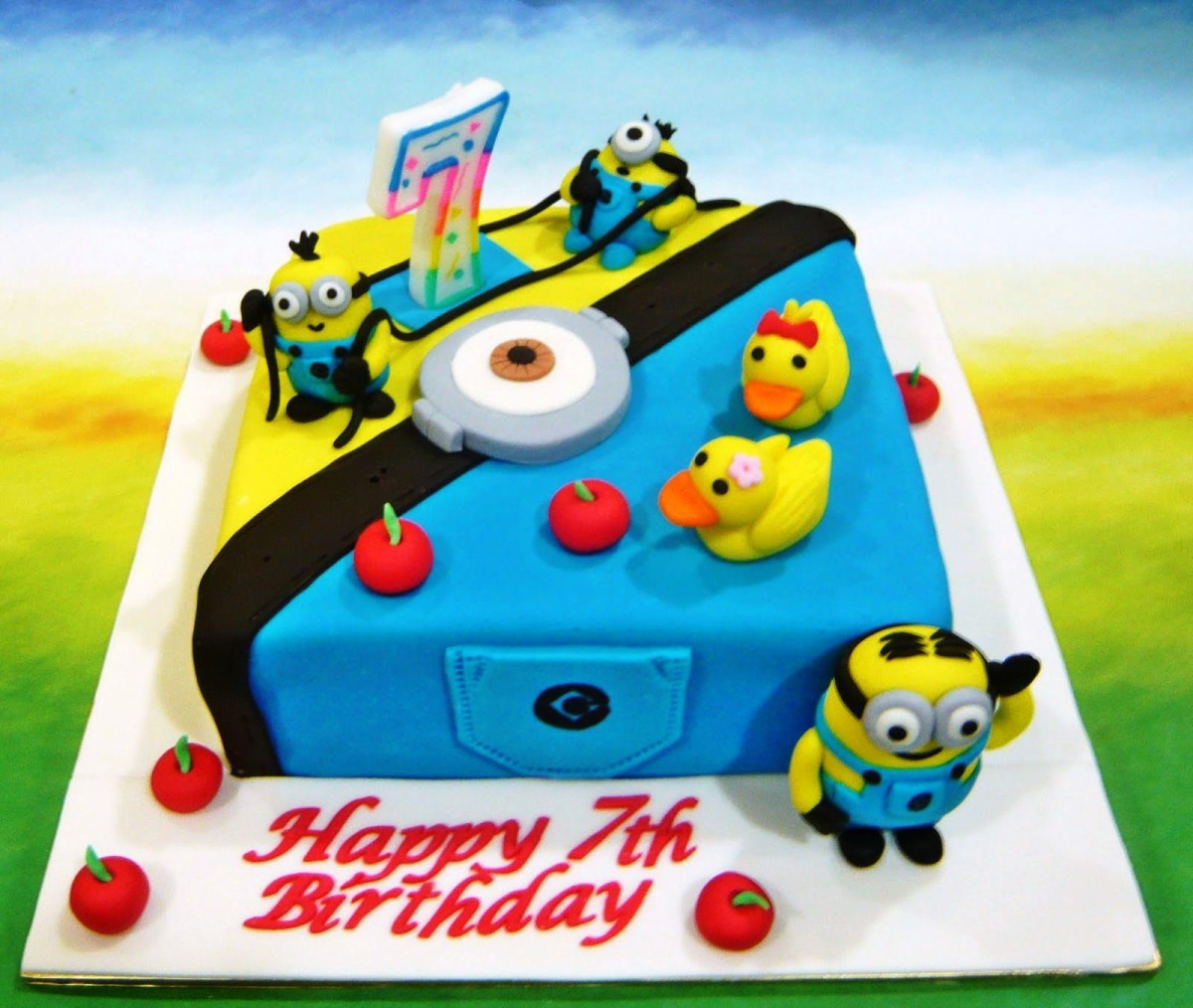 Swell Minion Birthday Cakes How To Make Despicable Me Birthday Cake Funny Birthday Cards Online Inifofree Goldxyz