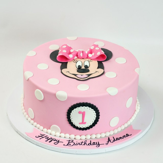 Minnie Mouse Birthday Cakes Kids Birthday Blue Lace Cakes