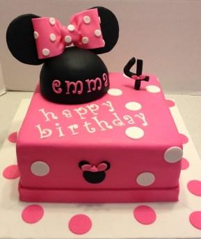 Minnie Mouse Birthday Cakes Marymel Cakes Emmas Minnie Mouse Birthday