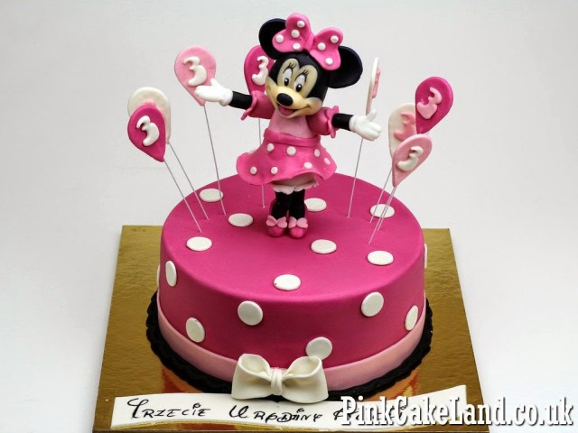 Minnie Mouse Birthday Cakes Mickey Minnie Mouse Cakes