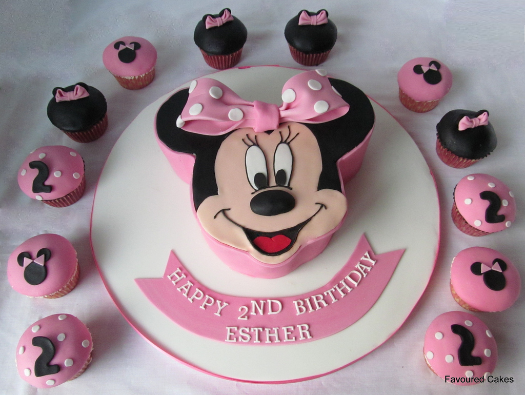 Sensational Minnie Mouse Birthday Cakes Minnie Mouse Cakes Decoration Ideas Funny Birthday Cards Online Alyptdamsfinfo