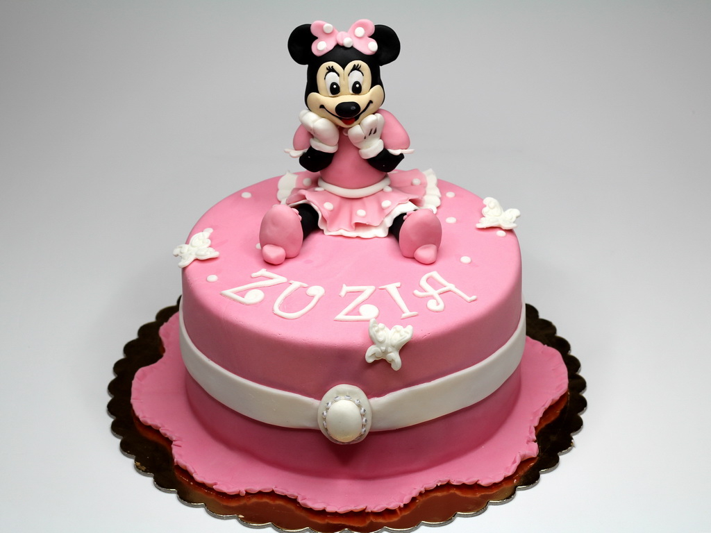 Magnificent Minnie Mouse Birthday Cakes Minnie Mouse Cakes Decoration Ideas Personalised Birthday Cards Veneteletsinfo