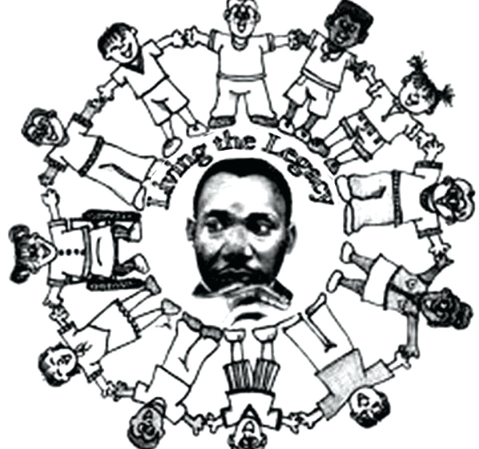 Martin Luther King Jr. coloring pages free printable | Black ... | 900x960