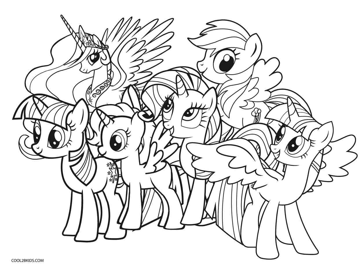 - Mlp Coloring Pages Free Printable My Little Pony Coloring Pages