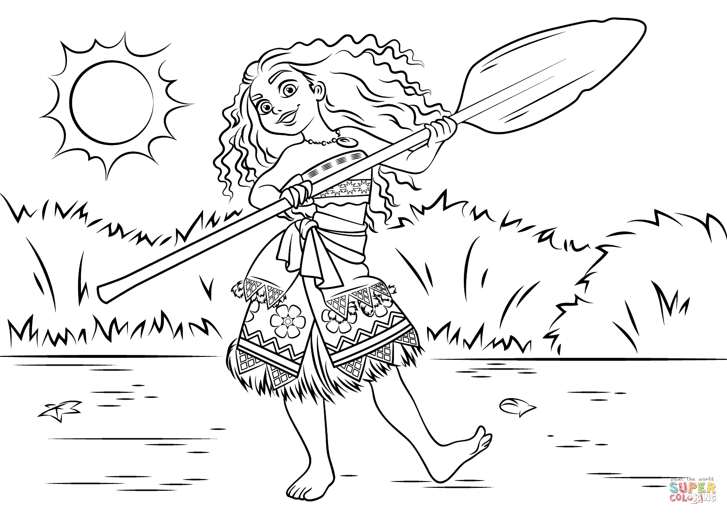 - Pretty Picture Of Moana Printable Coloring Pages - Birijus.com