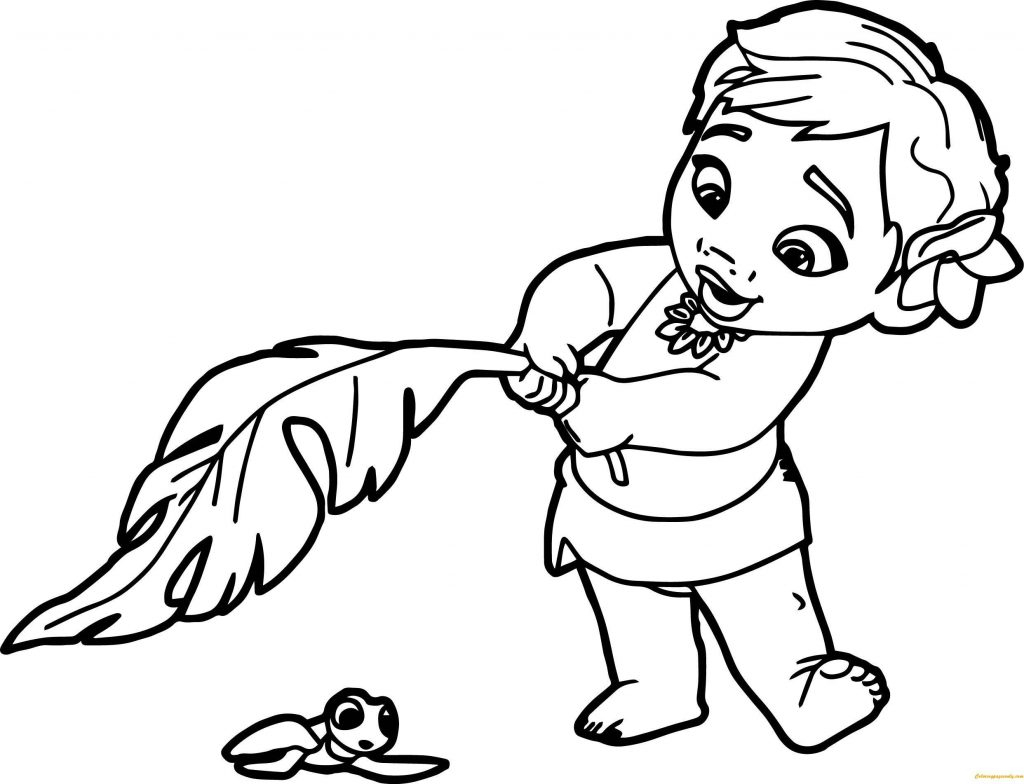 image about Printable Coloring Pages Moana referred to as Moana Printable Coloring Internet pages Coloring Internet pages Cost-free Printable