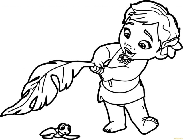 Moana Printable Coloring Pages Coloring Pages Free Printable Coloring Pages For Kids Disney