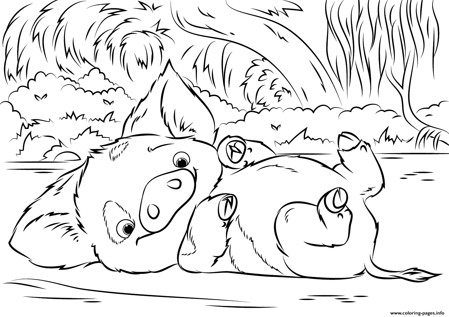 - Moana Printable Coloring Pages Disney Coloring Pages To Print Pua
