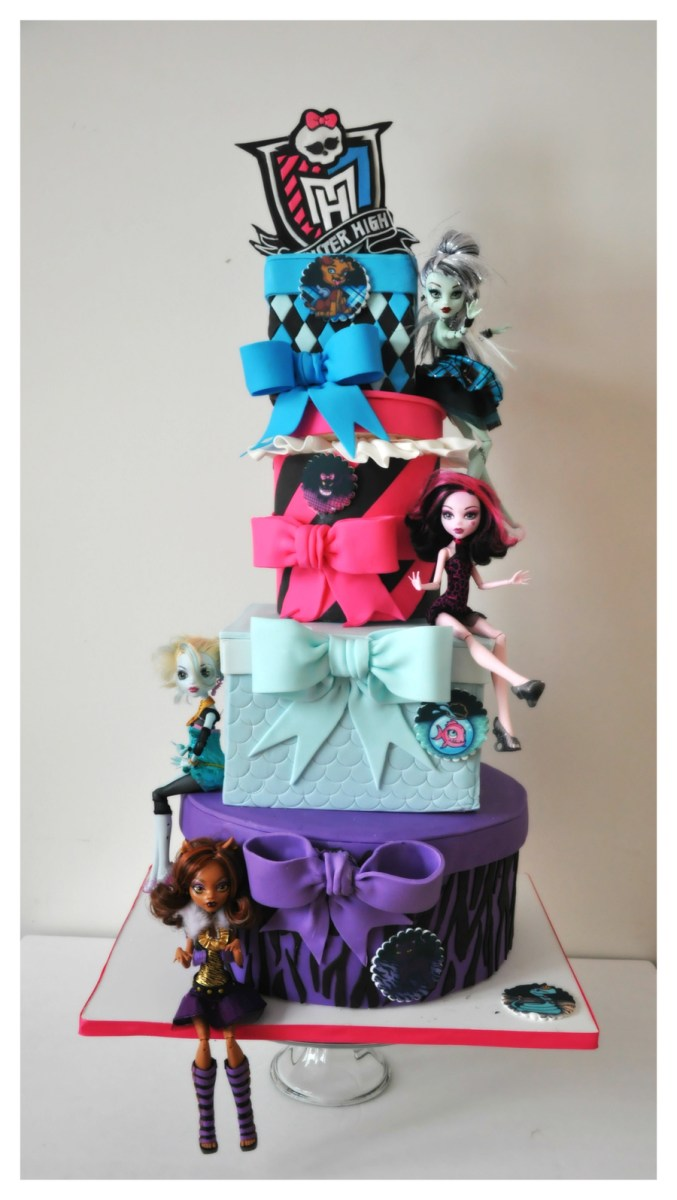 Fantastic Monster High Birthday Cakes Monster High Birthday Cake Cakecentral Funny Birthday Cards Online Inifofree Goldxyz