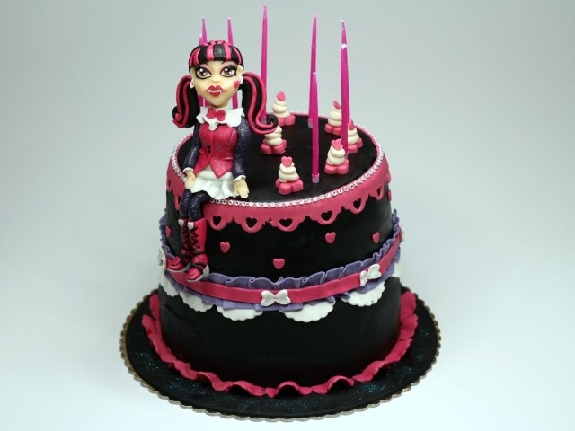 Monster High Birthday Cakes Monster High Cakes Decoration Ideas Little Birthday Cakes