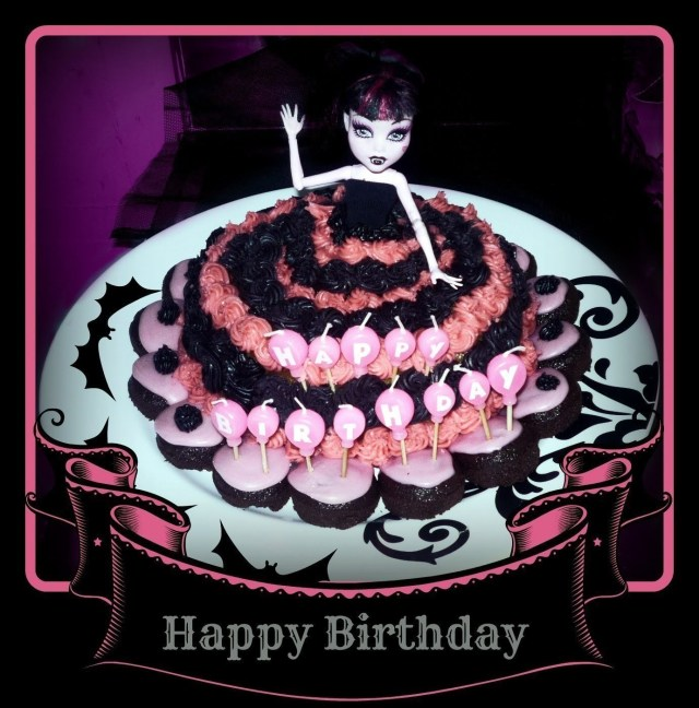 Monster High Birthday Cakes Monster High Girls Birthday Cake A Decorative Cake Recipes On