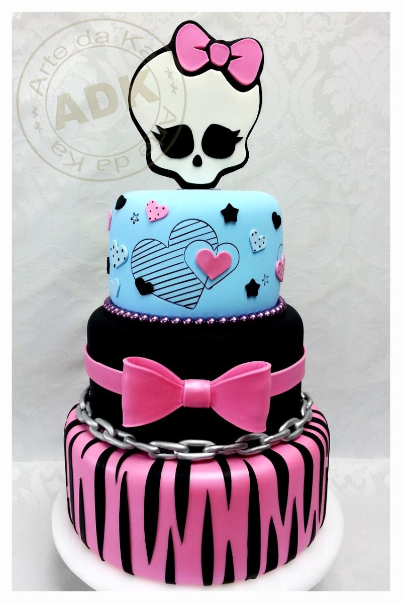 Prime Monster High Birthday Cakes Monster High Queque Birthday Cakes Funny Birthday Cards Online Alyptdamsfinfo