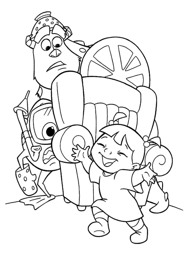 Monster Inc Coloring Pages Monsters Inc Coloring Pages Fresh Katesgrove Page 64 Of 85 Printable