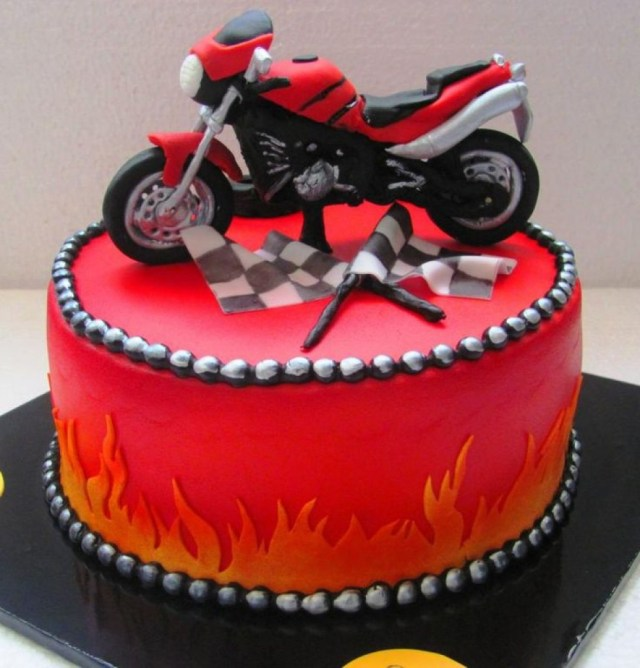 Motorcycle Birthday Cake Bodacious Happy Birthday Son Cake Images Together With Dirt Bike