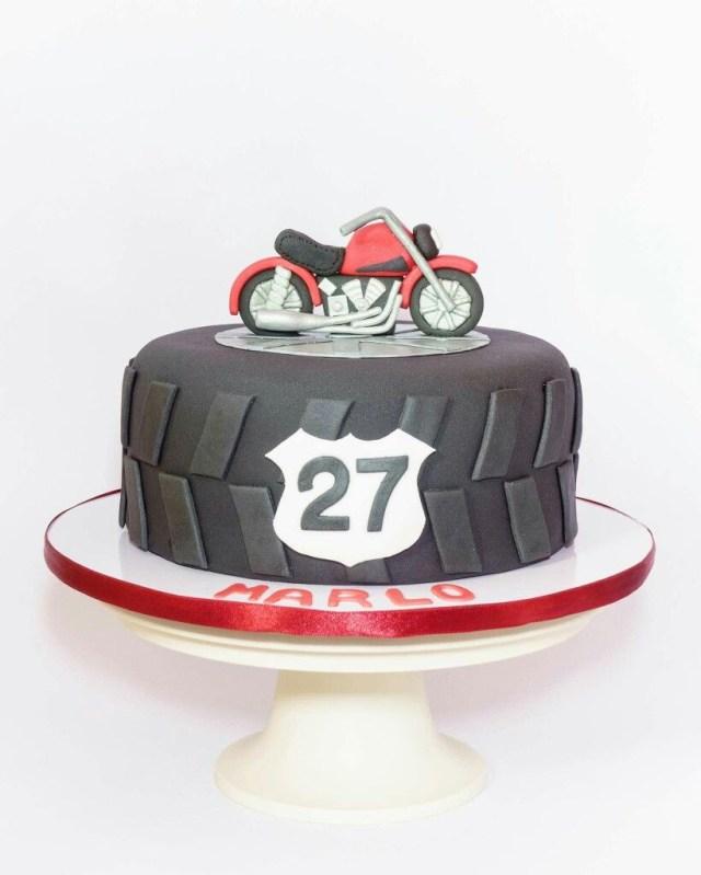 Motorcycle Birthday Cake Motorcycle Birthday Cake 30th Party Theme Pinte