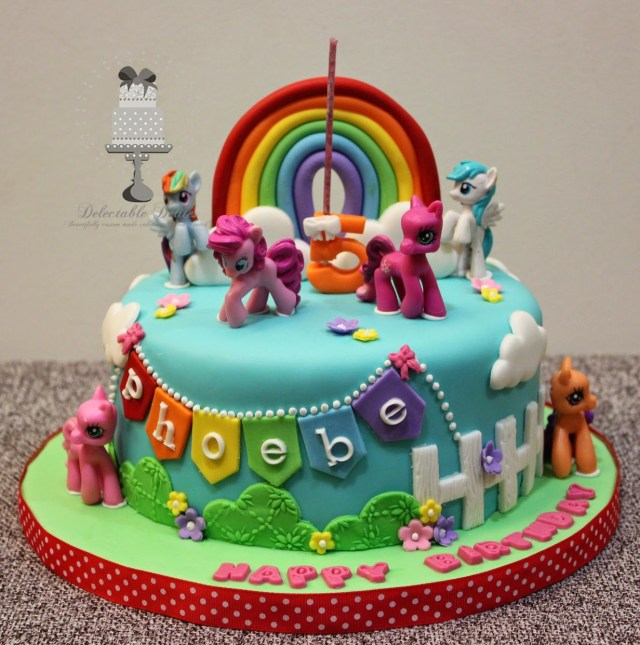 My Little Pony Birthday Cake Delectable Delites My Little Pony Cake For Phoebes 5th Birthday