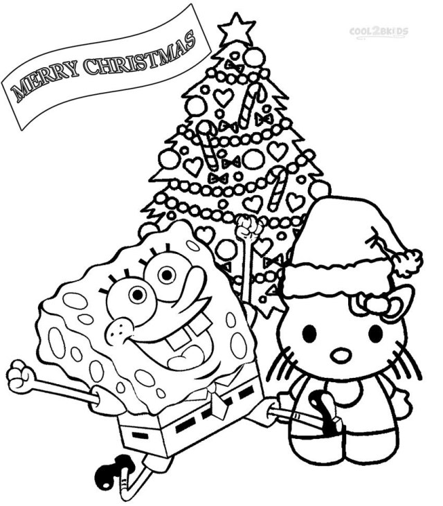 Nickelodeon Coloring Pages Nickelodeon Christmas Coloring Pages For Coloring Pages For Children
