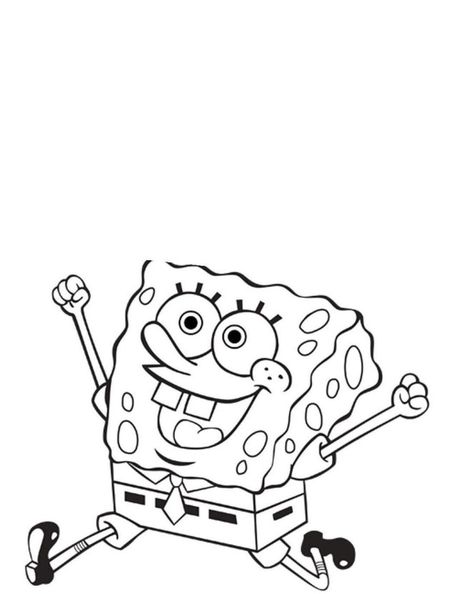 Nickelodeon Coloring Pages Nickelodeon Coloring Pages Fun Spongebob Hand Drawing Free