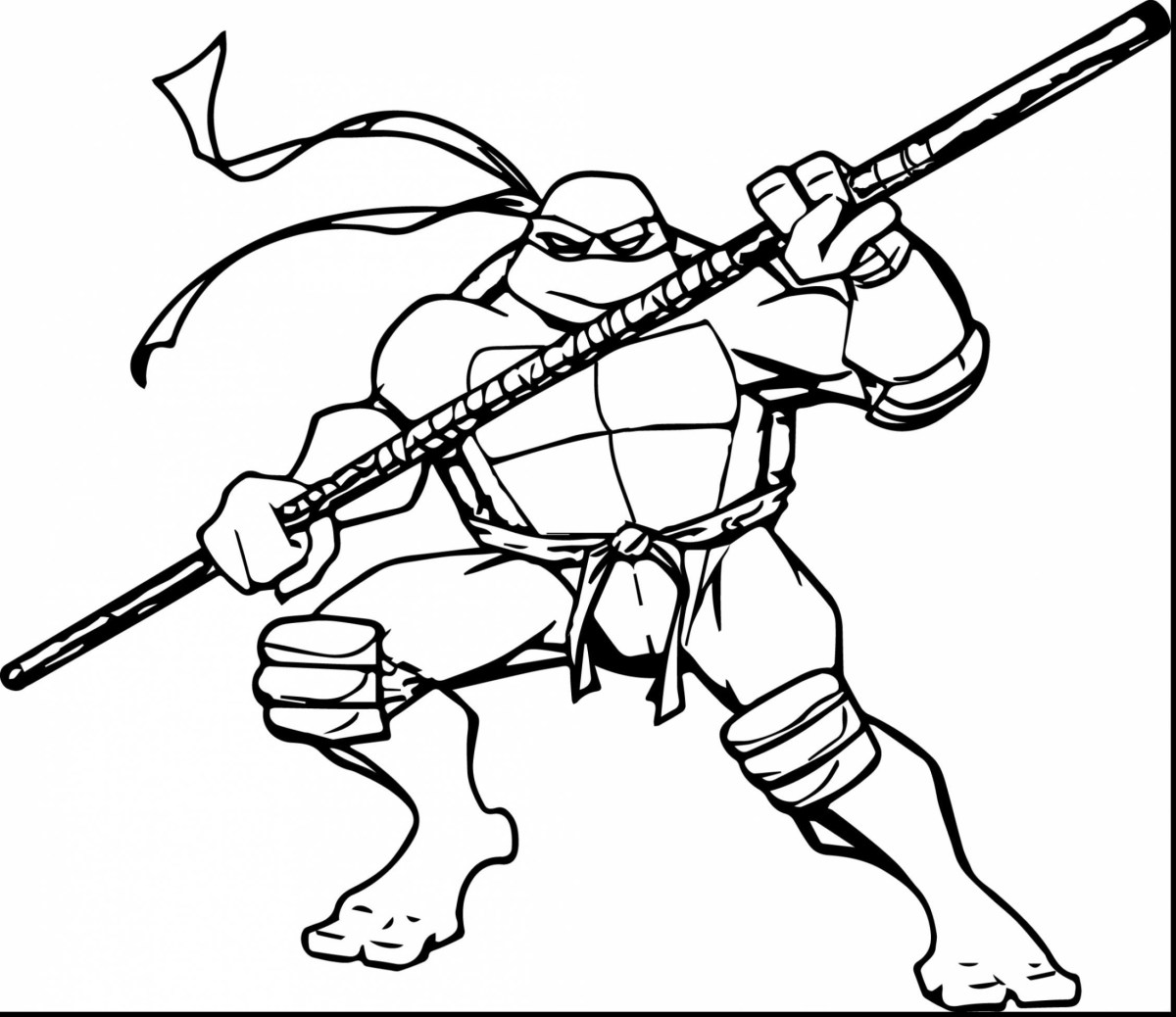 Ninja Turtles Coloring Pages Teenage Mutant Ninja Turtles ...
