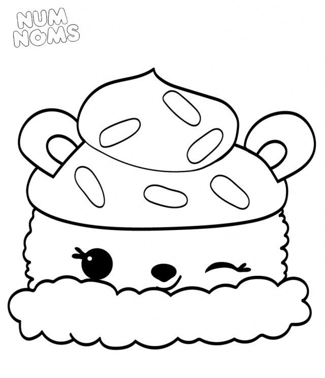 Num Nom Coloring Pages 20 Free Printable Num Noms Coloring Pages Of Chronicles Network