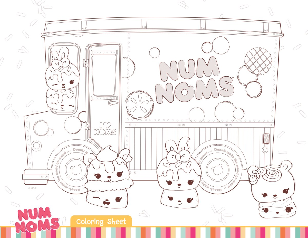 Num Nom Coloring Pages Download Fun Activities And Color Ins