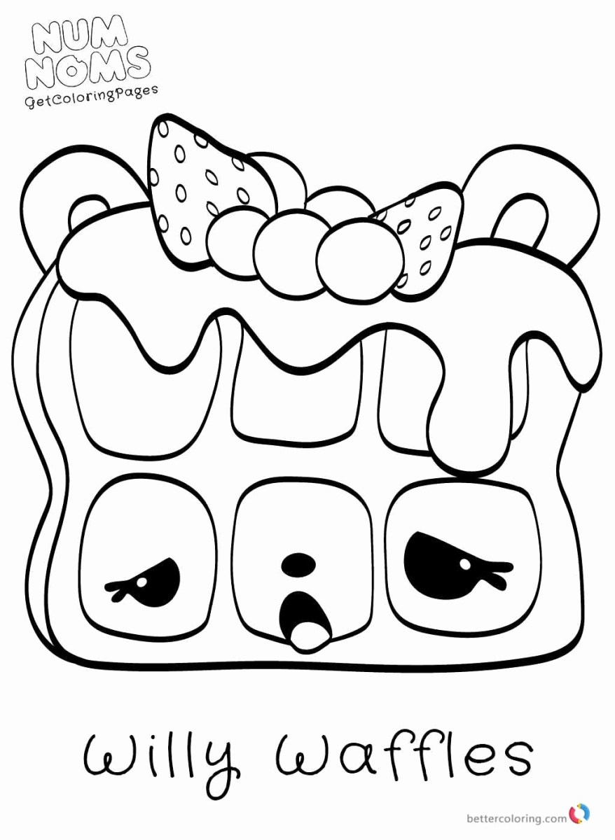 Num Nom Coloring Pages Num Nom Coloring Pages Unique Num Noms Coloring Page Color With Me 5 Birijus Com