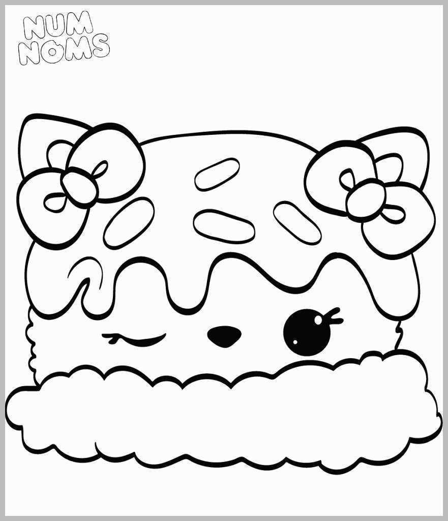 Num Nom Coloring Pages Num Noms Coloring Pages Free Birijus Com