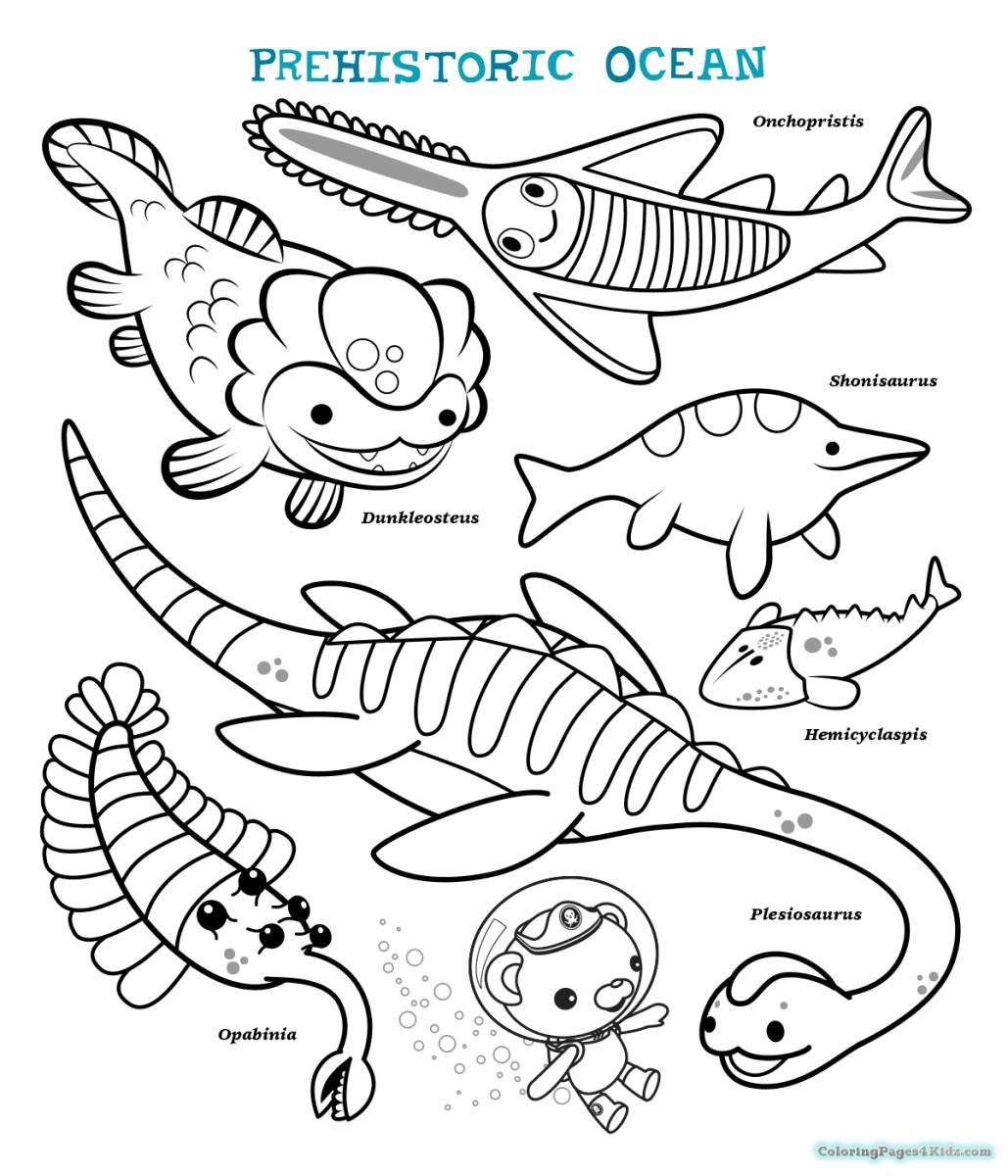 4100 Coloring Pages For Octonauts Pictures