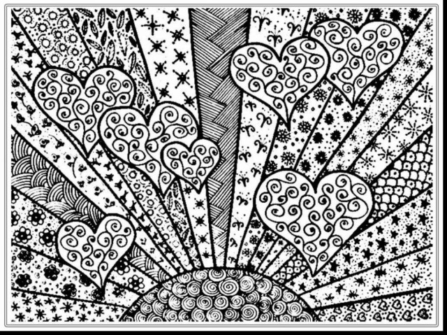 Online Coloring Pages For Adults Adult Coloring Pages Printable Within Free Online Vietti